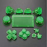 Dpad R1 L1 R2 L2 Trigger Button Thumbsticks für Sony PS4 Pro JDS040 JDM 040 Controller Dualshock 4 Pro klar grün