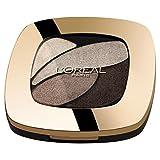 L'Oréal Paris Color Riche Quads Eyeshadow, E4 Marron Glace - Lidschatten Palette für ein intensives, sinnliches Farbergebnis - 1er Pack (1 x 2,5g)