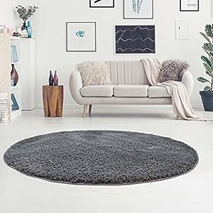 Teppich Rund 160 Grau Deine Wohnideen De