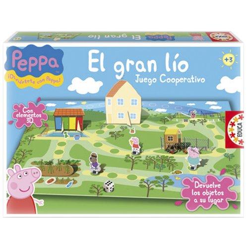 Educa Borrás Peppa Pig - El Gran lío
