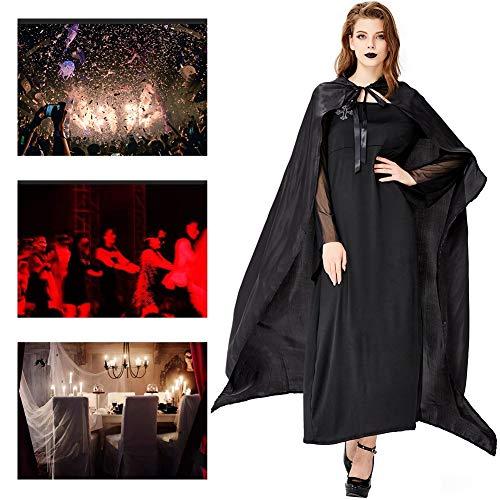 JH&MM Halloween Kostüm Damen Königin Zauberer Mantel Robe Magier Maskerade - Magier Roben Kostüm