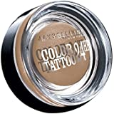Maybelline New York Lidschatten Eyestudio Color Tattoo 24h On and On Bronze 35 / Gel-Cream Eyeshadow Bronze metallic, langanhaltend, 1 x 4 g