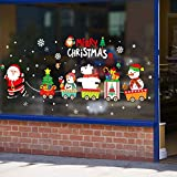 SANTITY Vinilos navideños, vinilos navideños, vinilos decorativos de Navidad, vinilos...