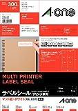 Joint-One (A-one) _tiquette [l'utilisation combin_e de l'imprimante] Matt White paper 15 taille feuille A4 20 marge de visage quatre c_t_s avec des coins arrondis (300 pi_ces) 28461 (japon importation)