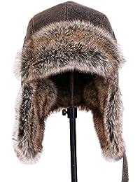 GAZHFERY Unisex Winter Trooper Trapper Bomber Hut Keeping Warm Während Skaten Skifahren Oder Andere Outdoor Jagdhut