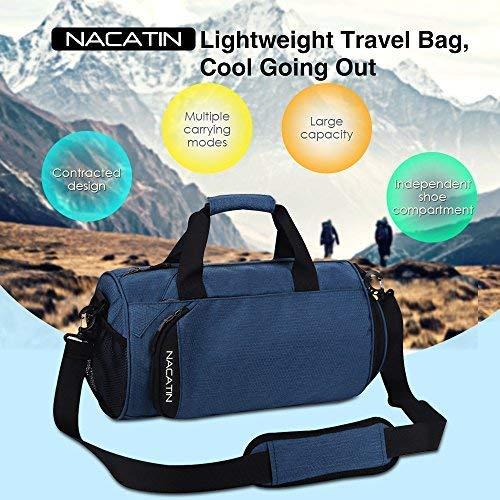 Sport Sac 25l Voyage Avec Chaussures Nacatin Compartiment De 1wUPEqE7z