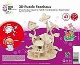 Mara by Marabu 046000004 - Feenhaus, 3D Puzzle, 43-Teile