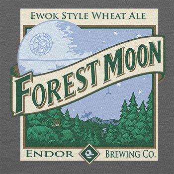 TEXLAB - Forest Moon Ale - Herren T-Shirt Grau