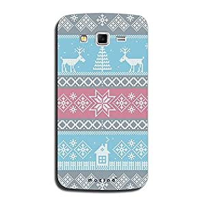 Mozine Deer Pattern Printed Mobile Back Cover For Samsung Galaxy Grand 2