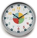Owlconic Lernuhr mit geräuschlosem Uhrwerk