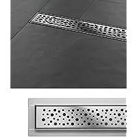 Edelstahl Siphon Ablaufrinne Duschrinne Bodenablauf Napo 30 cm