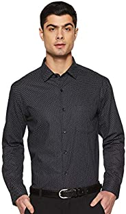 Diverse Men's Printed Regular fit Formal S