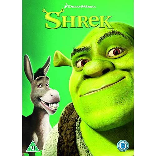 Shrek - 2018 Artwork Refresh [Edizione: Regno Unito] [Italia] [DVD] 1