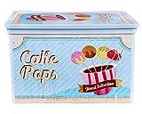 Ondis24 Aufbewahrungsbox Stapelbox C Box Cube Vintage Design Sweet mit Deckel Neu!