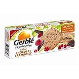 Gerblé - Galletas De Mantequilla De Chocolate Frambuesa 140G - Lot De 4 - Precio Por Lote - Entrega Rápida