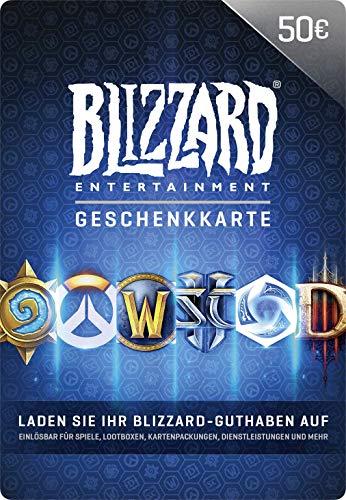 Blizzard-Geschenkkarte 50 EUR   PC Code