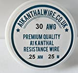 0,25 mm Kanthal A1 (30 AWG) - 50 metre carrete