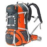 G4Free 50L Sport acquatici resistenti all'acqua Camping Escursionismo Zaino Trekking Arrampicata Zaino Borsa da montagna per trekking in viaggio con copertura a pioggia