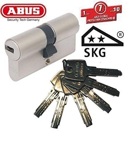 ABUS EC550 Profil-Doppelzylinder Länge 45/50mm mit 6 Schlüssel