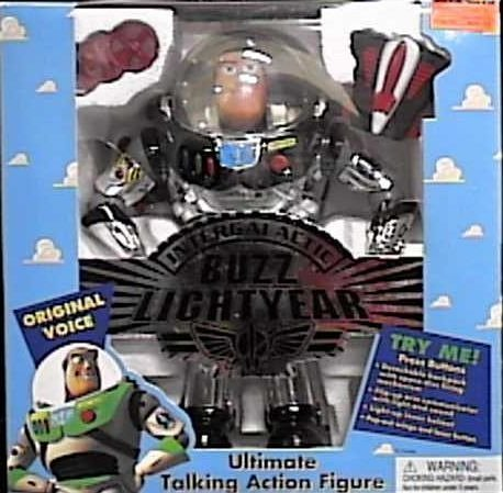 ic Silver Buzz Lightyear Ultimate Talking Action Figure by Toy Story ()