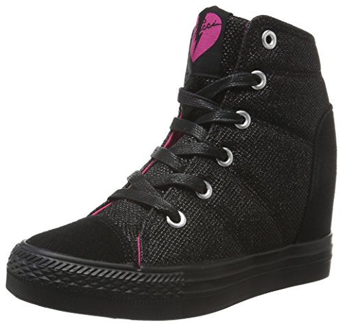 fiorucci-damen-fdae025-high-top-schwarz-nero-41-eu
