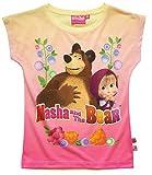 Mascha und der Bär Mädchen T-Shirt - gelb - 116