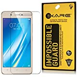 Dmg Ikare Impossible Fiber Tempered Glass Screen Protector For Vivo Y53 (Reusable, Ultra Clear, Real Shock Proof, Unbreakable)