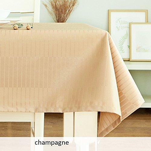 Imperméable nappe Nappes imperméables et anti-huile anti-chaud Nappe en tissu jetable Papier peint à la mode simple et simple Toile rectangulaire Table basse (3 couleurs en option) (taille facultative) pour dîner ( Couleur : B , taille : 80*80cm )