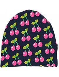 Maxomorra Mütze mit Kirschen-Motiv