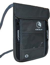 Pochette tour de cou voyage ceinture et protection RFID