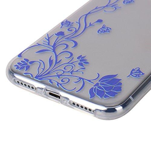 iPhone X Tasche, iPhone X Tasche Silikon, iPhone 10 Tasche Silikon, Moon mood® Gemalt Entlastung Relief Design Silikon Hülle für Apple iPhone 10 X 5.8 Zoll Thin Dünn Weich TPU Schutz Etui Cover, Flexi Muster 18