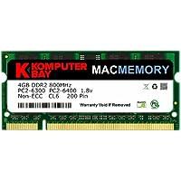 KB_MASTER_SODIMM_800 4GB (1x 4GB) 800MHz SODIMM Apple