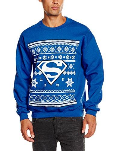 dc-comics-mens-christmas-superman-long-sleeve-sweatshirt-royal-blue-xx-large