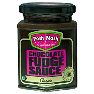 Posh Nosh Chocolate Fudge Sauce 295 gm (Classic Flavour)