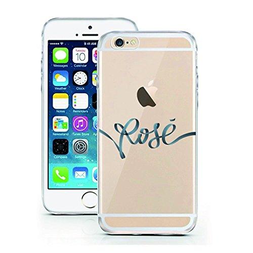Blitz® ADORE Schutz Hülle Transparent TPU Cartoon Comic Case iPhone Flamingo iPhone 7 Rosé