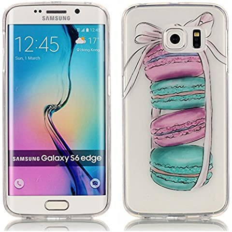 Custodia Samsung S6 Edge, LuckyW TPU Silicone