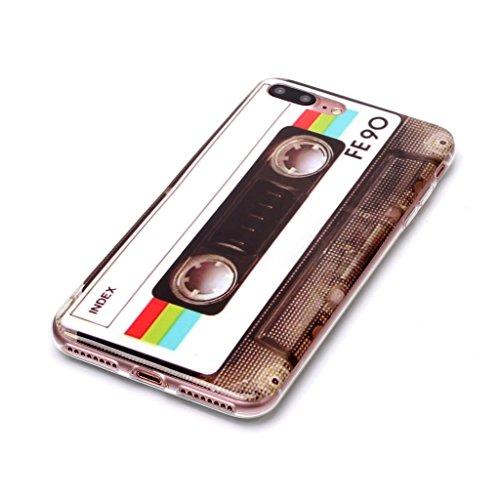 """Hülle für Apple iPhone 7 Plus / 8 Plus , IJIA Dreamcatcher TPU Weich Silikon Stoßkasten Cover Handyhülle Schutzhülle Handytasche Schale Case Tasche für Apple iPhone 7 Plus / 8 Plus (5.5"""") XS67"""