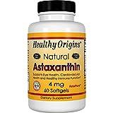 Healthy Origins, Astaxanthin, 4 mg, 60 Kapseln