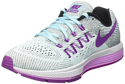 Nike Women's Nike Air Zoom Vomero 10 Grey and Purple Running Shoes - 7 UK/India (41 EU)(8 US)  available at amazon for Rs.9746
