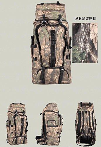 Professionelle Bergsteigen im Freien Umhängetasche Camo Taschen Rucksäcke Große Kapazität Morral Stil 3