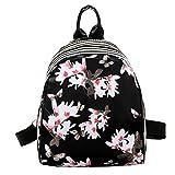 XINANTIME - Bolso de mujer Las niñas imprimen la bolsa de escuela linda del estilo de muy buen gusto Mochila de viaje (21 * 27 * 10 cm, B)