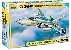 Zvezda 7268 500787268-1:72 - Maqueta de helicóptero Todoterreno SUKHOI SU-24MR (Escala 1:72, construcción de Modelos, aficiones, Manualidades, Kit de Montaje de plástico, sin lacar)