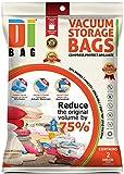 DIBAG ® 2er Set - VaKuum komprimierte Speicherung platzsparend Beutel