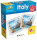 Lisciani Giochi 58921 Gioco I'm a Genius Memoria 100 Italy