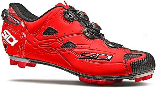 Sidi Tiger MTB-Schuh, Rot (rot, matt), 47 EU
