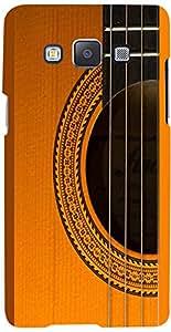 PRINTVISA Music Guitar Strings Case Cover for Samsung Galaxy A7