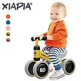 MZ Bicicletta senza Pedali Bici per Bambini Camminatore dei Bambini 10-24 Mesi Giocattoli per 1 Anno Bambino Piccolo Giocattolo Primo Regalo di Compleanno (Giallo)