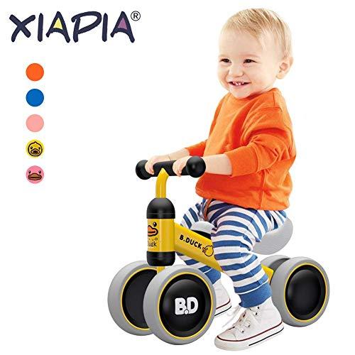 Bicicletta senza Pedali, Bici per Bambini 1-2 Anni (10-24 Mesi), Camminatore dei Bambini, Giocattoli per 1 Anno Bambino, Bicicletta Equilibrio Bambino, Giocattoli per Ragazzini e Ragazzine