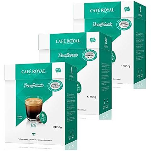 Café Royal Decaffeinato, Caffè, Compatibile Nescafé Dolce Gusto, 3 x 16 Capsule