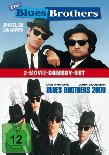 Die Blues Brothers & Blues Brothers 2000 [2 DVDs] (Brothers-film-dvd Die Blues)